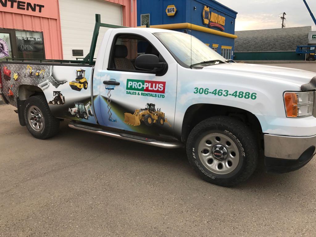 Pro Plus Vehicle Wrap