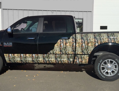 Camouflage Truck