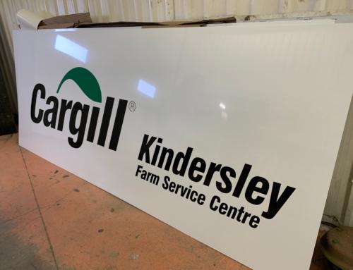Cargill Dibond Signs